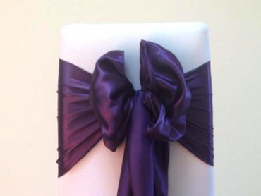 takeaseat-cadbury-purple-satin-sash