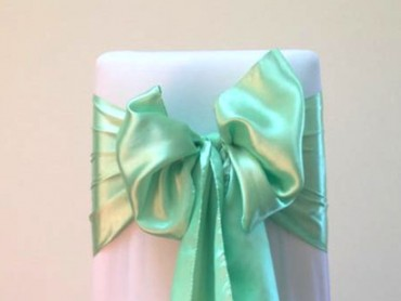 takeaseat-mint-green-satin-sash