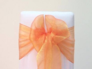 takeaseat-orange-organza-sash
