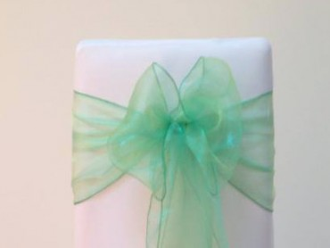 takeaseat-pond-green-organza-sash