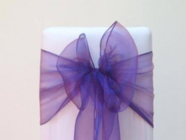 takeaseat-purple-organza-sash